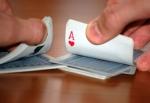 Shuffling-cards