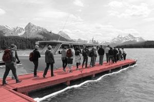 boat boarding